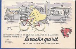 Buvard La Vache Qui Rit , Série Les Métiers  N°10/10 - Blotters