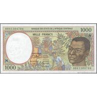 TWN - EQUATORIAL GUINEA (C.A.S.) 502Nh - 1000 1.000 Francs 2000 UNC - Equatoriaal-Guinea