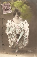 """Pretty, Erotic Lady. Dsncing"" Nice Vintage Spanish Postcard - Mujeres"