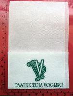 Tovagliolino Caffè BAR PASTICCERIA VOGLINO ACQUI TERME TOVAGLIOLO Italy - Serviettes Publicitaires