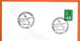51 REIMS  ESCADRON 3/30 LORRAINE  1976 Lettre Entière N° CD 46 - Marcophilie (Lettres)