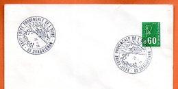 83 DRAGUIGNAN  FOIRE DE L'OLIVE 1976 Lettre Entière N° CD 49 - Poststempel (Briefe)