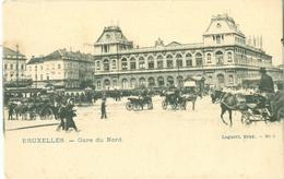 Bruxelles; Gare Du Nord - Non Voyagé. (Lagaert - Bruxelles) - Schienenverkehr - Bahnhöfe