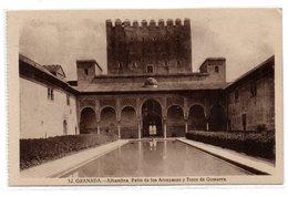 Tarjeta  Postal De Granada. Alhambra - Granada