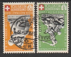 Helvetia 1940 Cancelled At A - Svizzera