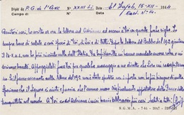 MILITARI -A - CORRISPONDENZA PRIGIONIERI DI GUERRA-CORRESPONDANCE DES PRISONNIERS DE GUERRE-EL HAJEB (MAROCCO) - Guerra 1939-45