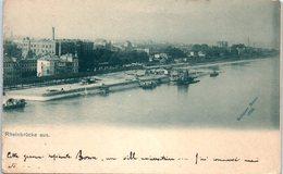 Rheinbrücke Aus. - Schauer Bonn 1898 - Bonn