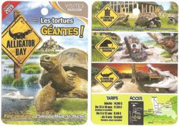 Fiche Touristique Visites Passion - Alligator Bay - Beauvoir - Parc Animalier - Nouvel Espace 2019 : Les Tortues Géantes - Reklame