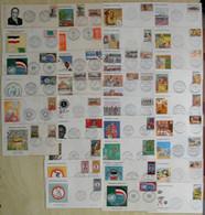 HAUTE VOLTA - LOT De 33 ENVELOPPES Avec OBLITÉRATIONS PREMIER JOUR FDC Entre 1961 Et 1972 NOMBREUX THÈMES - Haute-Volta (1958-1984)