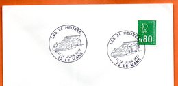 72 LE MANS  LES 24 HEURES 1977 Lettre Entière N° CD 61 - Marcophilie (Lettres)