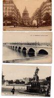 Lote De 8  Tarjetas Postales De Francia - Francia