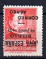 Sello Nº 9 Hi Bilbao - Emisiones Repúblicanas
