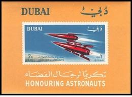 Dubai Mi. Bl 14 MNH - FDC & Gedenkmarken