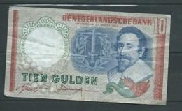NEDERLAND - 10 GULDEN N°  6 T0098189   -   2 Scans -  LAURA 4608 - 1992-2000 Last Series