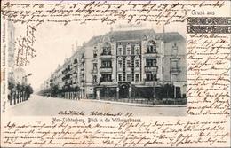! 1903 Alte Ansichtskarte Aus Berlin, Neu Lichtenberg, Wilhelmstrasse, Kreisobersegmentstempel, KOS - Andere