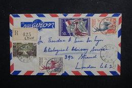 TOGO - Enveloppe En Recommandé De Lomé Pour Londres En 1959, Affranchissement Plaisant - L 49428 - Briefe U. Dokumente