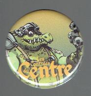 Pin's édité Pour La Sortie Des Contrées Du Centre (La Louvière), Oeuvre De Ghislain Cloutier - BD