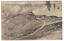 1779 - PRESAGIO DI BUFERA SULLA VETTA MONTE SACCARELLO NAVA MENDATICA TRIORA IMPERIA 1934 - Imperia