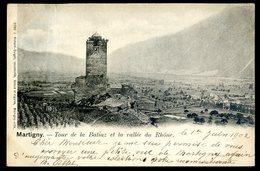 Cpa De Suisse  Martigny Tour De La Batiaz Et La Vallée Du Rhône      DEC19-05 - VS Valais
