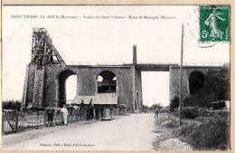X53008 SAINT PIERRE LA COUR 53-Mayenne Mines De MONTIGNE Viaduc Des FEUX VILAINES 1910s à COUSIN Garenne Colombes - Mayenne
