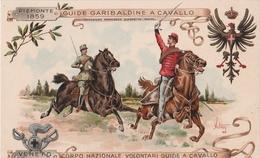 Cartolina - Postcard / Non Viaggiata  - Unsent  /  Corpo Nazionale Volontari Guide A Cavallo. - Regiments