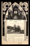 51 - VERTUS - INTERIEUR DE L'EGLISE - LE DONJON - Vertus