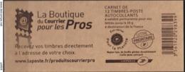 194 – FRANCE – BOOKLETS – CARNETS – MARIANNE DE BEAUJARD – Y&T # 4197-C17 NEUF ** MNH – Cote 25 € - Libretas