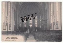 Nieuwmoer (de Kerk Binnenzicht) Uitg. Hoelen N° 6391 - Kalmthout