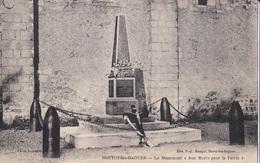 HOTTOT LES BAGUES LE MONUMENT AUX MORTS POUR LA PATRIE    ACHAT IMMEDIAT - Autres Communes