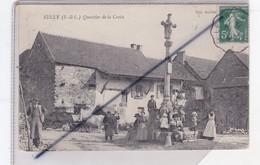 Sully (71) Quartier De La Croix (attelage Avec Boeufs,et Nombreux Personnages) - Unclassified