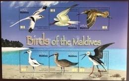 Maldives 2010 Birds Sheetlet MNH - Vögel