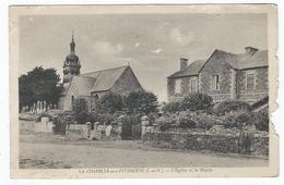 LA CHAPELLE-aux-FITZMEENS (35) - L'Eglise Et La Mairie - France