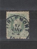 COB 30 Oblitération Centrale Simple Cercle TIRLEMONT +2 - 1869-1883 Leopold II