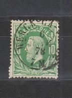 COB 30 Oblitération Double Cercle HERCK-LA-VILLE +12 - 1869-1883 Leopold II