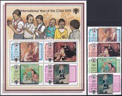 SWAZILAND 1979 Mi-Nr. 318/21 + Block 3 ** MNH - JAHR DES KINDES - YEAR OF THE CHILD - Swaziland (1968-...)