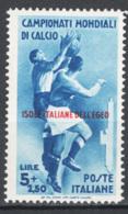 Egeo 1934 Sass.79 **/MNH VF/F - Egeo