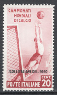 Egeo 1934 Sass.75 */MVLH VF/F - Egeo
