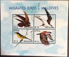 Maldives 2007 Migratory Birds Sheetlet MNH - Vögel