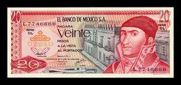 México 20 Pesos 1977 Pick 64d Serie DL SC UNC - Mexiko