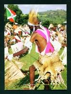 BURUNDI - Intore Dance Unused Postcard As Scans - Burundi