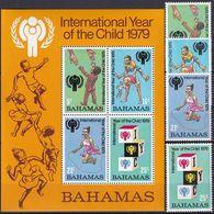 BAHAMAS 1979 Mi-Nr. 436/39 + Block 26 ** MNH - JAHR DES KINDES - YEAR OF THE CHILD - Bahamas (1973-...)