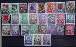 BELGIE  1940  Winterhulp    Nr. 538 - 546 /  547 - 555 A     Postfris **    CW  46,50 - Belgique