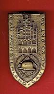 INSIGNE ALLEMAND GAU MUNSTERLAND GAUTAG 28 OKT. 34 DER STAHLHELM National-Sozialistischer-Deutscher-Frontkämpfer-Bund - 1939-45