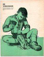 Padvinderij Scout Scouting De Verkenner  Maandblad Katholieke Scouts Nr 1 - 2 - 3 1957 3 Stuks/pcs - Scoutisme