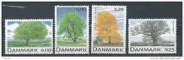 Danemark 1999 N°1202/1205  Neufs ** Arbres - Danimarca