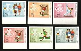 Manama Mi. 346B / 351B  Olympische Spiele 1964 Tokio **/MNH - Summer 1964: Tokyo