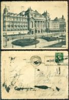 Belgie Ansichtkaart Naar Nederlands Indie Antwerpen Opera - Zonder Classificatie