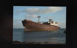 LANZAROTE Islas Canaria Cargo Ship Wreck Boat  épave Bateau échoué Maritime Vessel Ship Schiff - Lanzarote