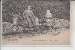 76  - NORMANDIE - Le Petit Laitier  -( Sitiuee Entre Yport Et Criquebeuf ) - Francia