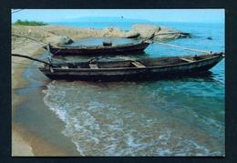 BURUNDI - Fishing Boats Unused Postcard As Scans - Burundi